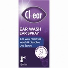 Cl-ear Ear Wash Ear Spray (15ml)