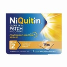 Niquitin Clear 14mg Patch Step 2 (7 Patches)