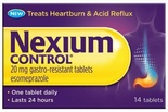 Nexium Control 20mg Gastro-Resistant Tablets (7/14 Tablets)