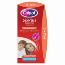 Calpol Six Plus Suspension - Sugar Free Strawberry (100ml)