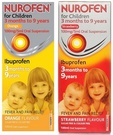 Nurofen For Children Sugar Free -100ml (Orange/Strawberry)