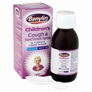 Benylin Childrens Dry Cough & Sore Throat Syrup (125ml)