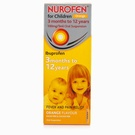 Nurofen For Children Sugar Free - 200ml (Orange/Strawberry)