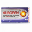 Nurofen Maximum Strength Migraine Pain 684mg (12 Caplets)