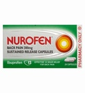 Nurofen Back Pain 300mg Sustained Release Capsules (24 Caps)