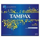 Tampax Regular Applicator Tampon Single (20)