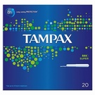 Tampax Super Applicator Tampon Single (20)