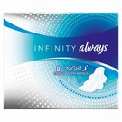 Always Infinity Night Pads with Wings (8)