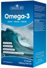 Natures Aid Super Strength Omega-3 (60 Softgels)
