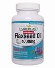Natures Aid Flaxseed Oil 1000mg Cold Pressed (90 Softgels)
