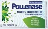 Pollenase 10mg Allergy & Hayfever Relief (14)Tablets