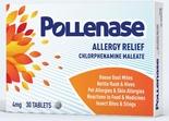 Pollenase Anti-Histamine Tablets 30