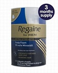 Regaine For Men - Extra Strength 5% Foam Triple Pack