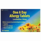 Loratadine 10mg Tablets (30 Tablets)