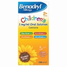 Benadryl Allergy Solution for children (100ml)