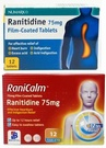 Ranitidine Indigestion Relief Tablets (12 Tablets)