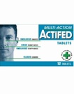 Actifed Tablets (12 Tabs)