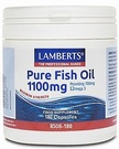 Lamberts Pure Fish Oil 1100mg (60/180 Caps)