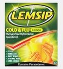 Lemsip Cold & Flu Lemon Flavour (10 Sachets)