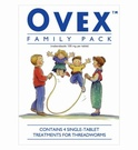 Ovex Mebendazole Family Pack (4 Tablets)